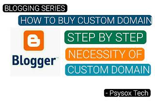 Why  do we need a custom domain name ?