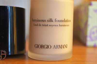 Best foundations, top 3 swatches Giorgio armani luminous silk