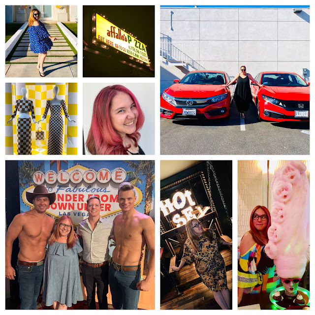 2019, New Year's Eve, New Year's wrapup post, 2019 wrapup, Jamie Allison Sanders, looking back on 2019, Barton G, Marie Antoinette dessert, Thunder from Down Under, Las Vegas, Magic Mike, Louis Vuitton, pink hair, new car, Honda Civic