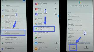Cara FRP Unlock SM-M205 Samsung luopa password email