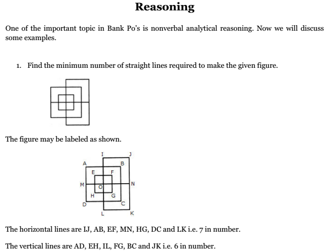 Nonverbal Analytical Reasoning Questions Answers