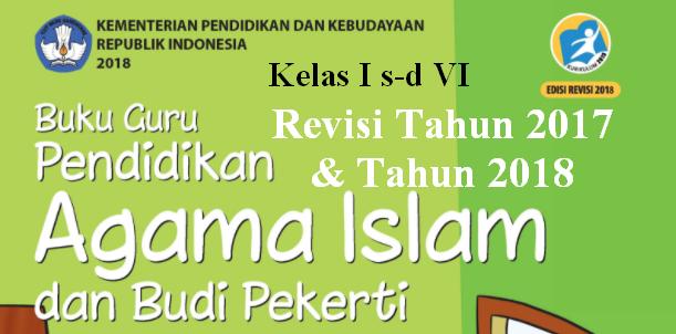 Download Buku Guru PAIBP SD/MI Kelas 1-6 K13 Edisi Terbaru
