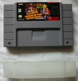 Super Mario RPG - Legend Of The Seven Stars - Cartucho + protector delante