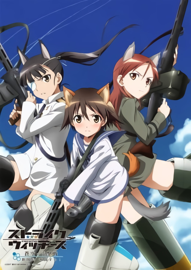 Strike Witches S1 BD Batch Subtitle Indonesia [x265]