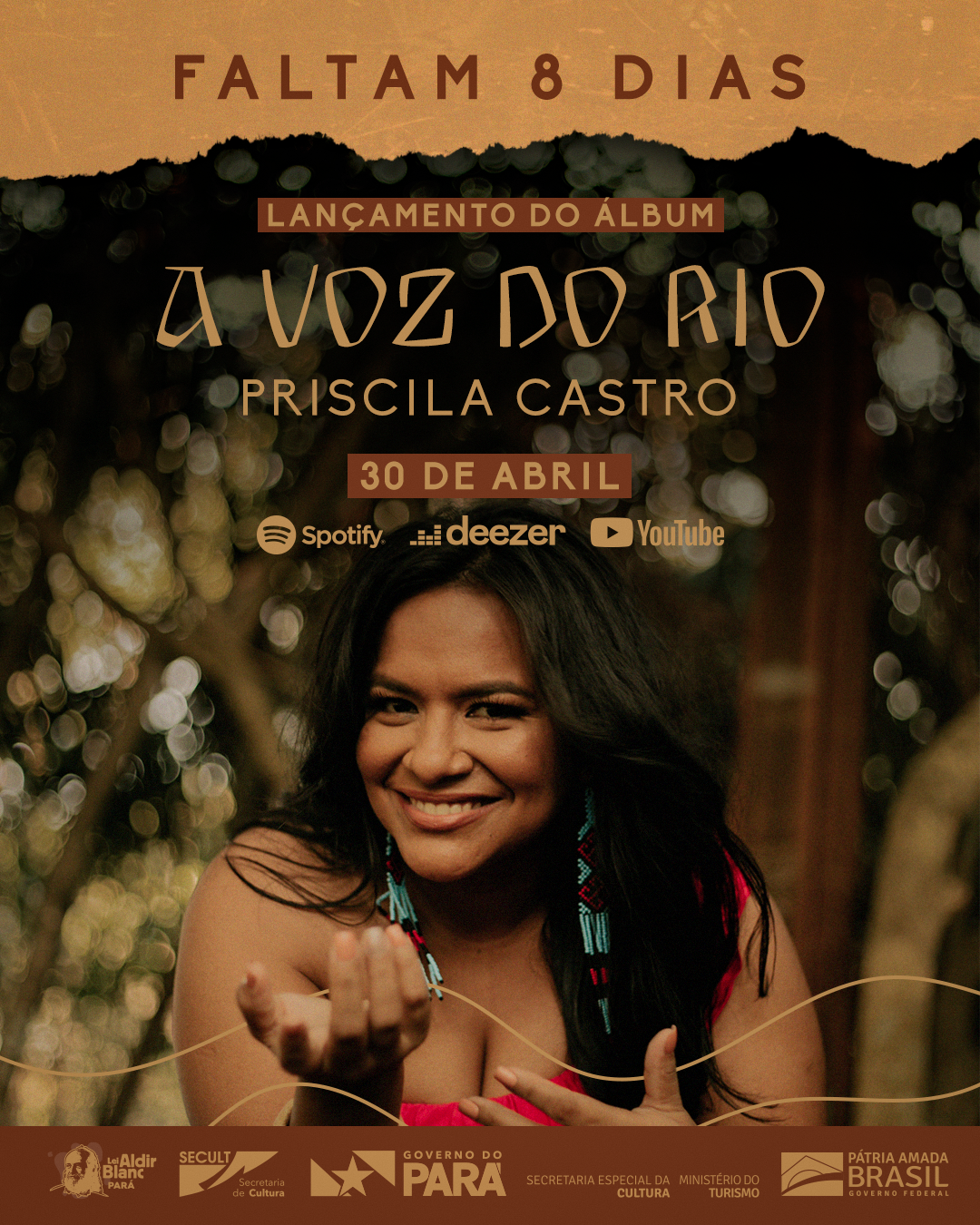 Priscila Castro vai lançar álbum com músicas de protesto e diversidade de ritmos