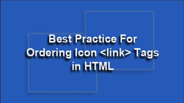 Add a Favicon & Apple Touch icon using HTML [Website/Blog]