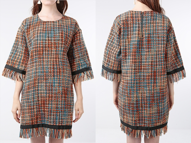 Vogos 2015 AW Tweed Gigi Dress