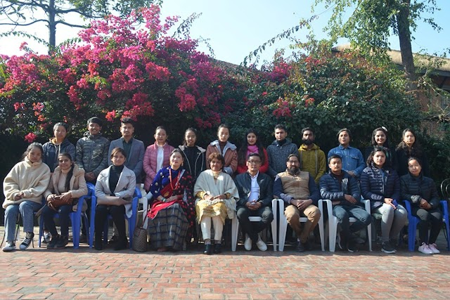 तिब्बतमा २३ नेपाली विद्यार्थीलाई जीपी फाउन्डेसनको छात्रबृत्ति