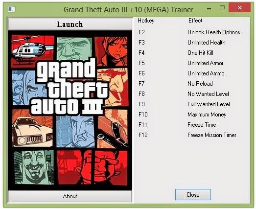 GTA Glitch Finder GTA 3 Ultimate Trainer (New )