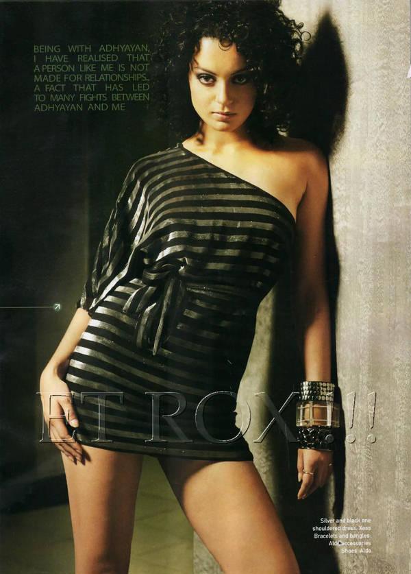 Krish 3 Actress Kangana Ranaut FilmFare Magazine Hot Photo