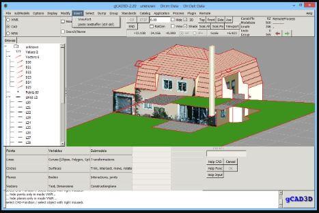 اداة, متطورة, لإنشاء, نماذج, ثرى, دي, ثلاثية, الابعاد, بطريقة, احترافية, gCAD3D