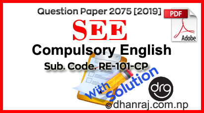 SEE-Solved-Question-Paper-Of-Compulsory-English-2075-2019-RE-101CP