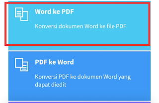 Convert file Doc ke PDF