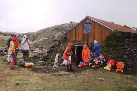 Álftavötn (Alftavatn) hut in 1977
