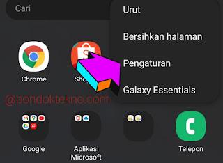 Cara Agar Aplikasi di Layar Depan Samsung Tidak Terhapus dan Berpindah Posisi
