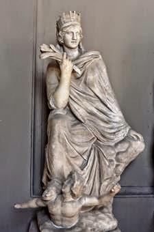 La diosa Griega Fortuna