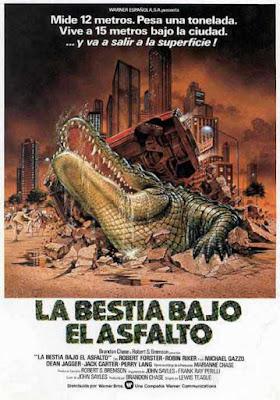 Poster de La bestia bajo el asfalto (1980)