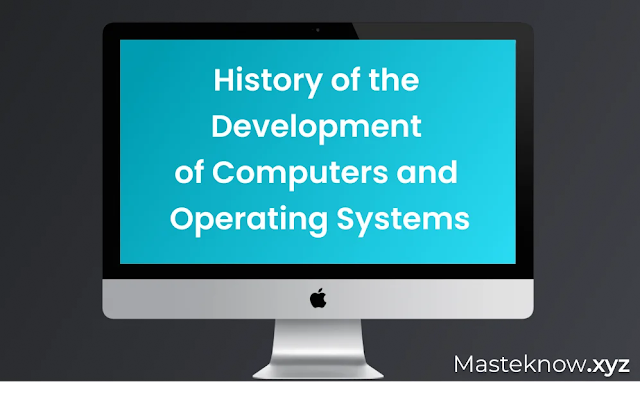 history of operating system