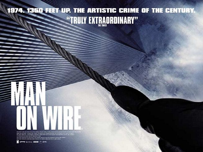 Man on Wire - Philippe Petit (2008)