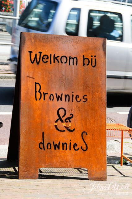 Brownies and downies Alkmaar  rostiges Schild