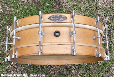 Late 1920s George B. Stone & Son Separate Tension Orchestra Drum