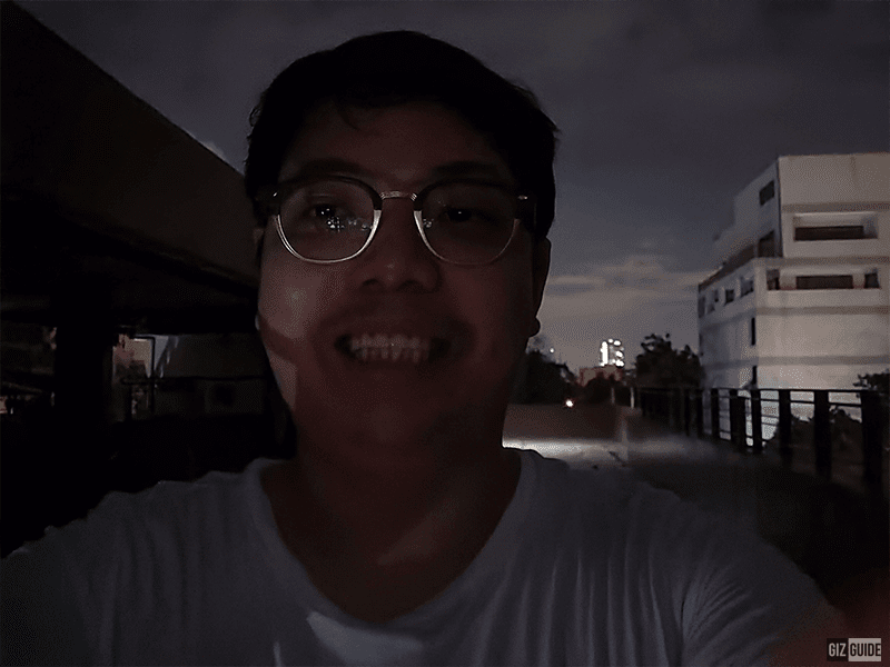 Huawei nova 7i Night mode selfie