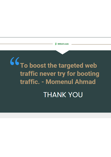 web traffic quotes