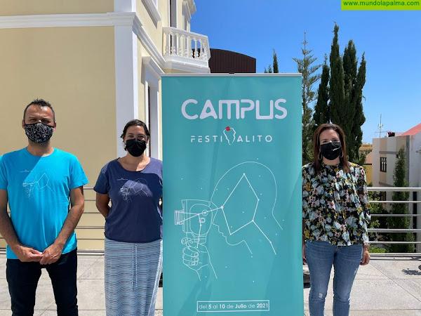 Santa Cruz de La Palma estrena el 'Campus Festivalito' para que niños y jóvenes aprendan a hacer cine