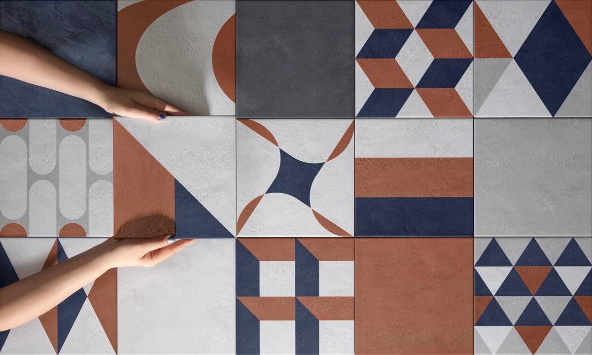 Piastrelle di design - Quadra di eccentrico