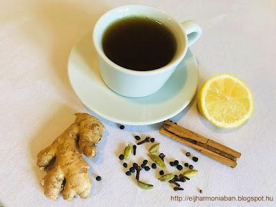 immunerősítő ital, gyömbér tea, kurkuma ital,