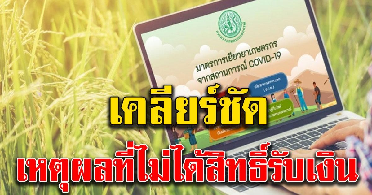 เปิดเหตุผล ที่ผู้ประกันตนมาตรา 33 ไม่ได้สิทธิ์รับเงินเกษตร 15000