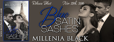 Release Blast & Giveaway:  Blue Satin Sashes – Millenia Black