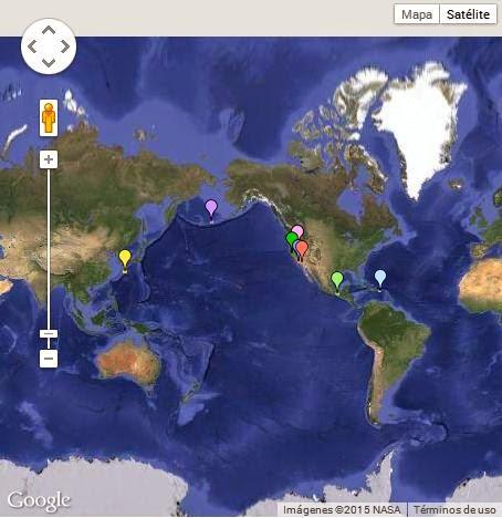 Terremotos en américa