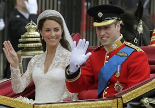 Prince William and Kate Middleton are married