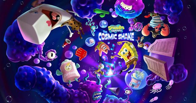 SpongeBob SquarePants: The Cosmic Shake (Switch) tem box art e preço revelados