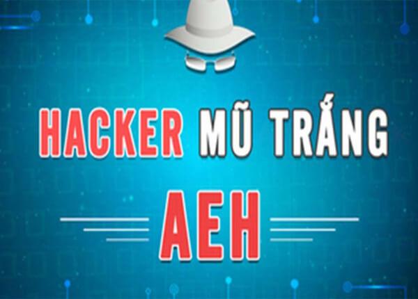 Khóa học làm hacker mũ trắng AEH - Học chi tiết từ a đến z