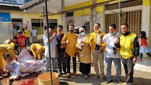 DPD Golkar Kabupaten Garut Idul Adha 1441 H Kurban Empat Ekor Sapi