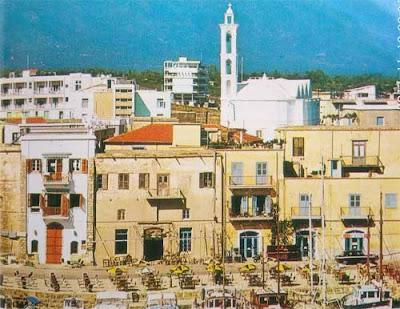 Foto Pemandangan kota di Cyprus