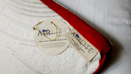 Uratex airlite pillow