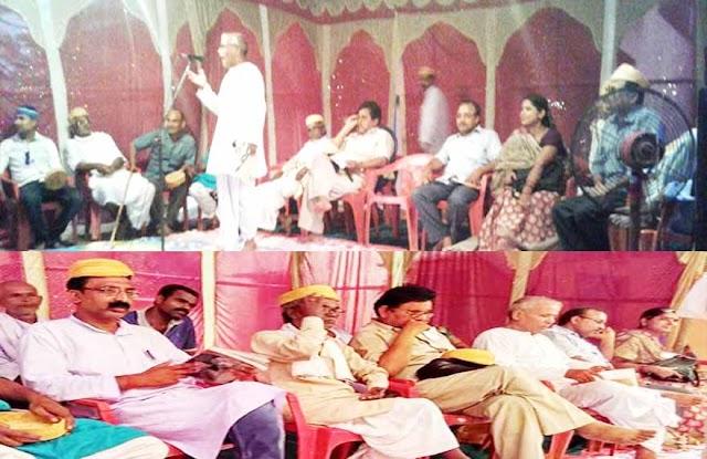 दुर्गा पूजा के मौके पर काव्य बैसार का हुआ आयोजन