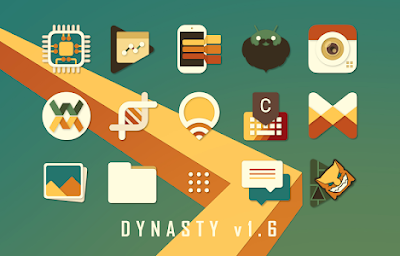 Dynasty Retro Icon Pack APK