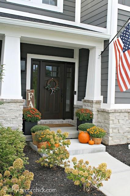 modern craftsman front porch