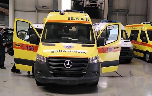 Δωρεά δυο νέων σύγχρονων ασθενοφόρων στην υπηρεσία του ΕΚΑΒ Αργολίδας