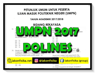 Pembahasan Soal UMPN 2017 Polines