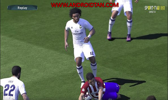 Pro Evolution Soccer 18 Mod Apk PES 2018 Terbaru