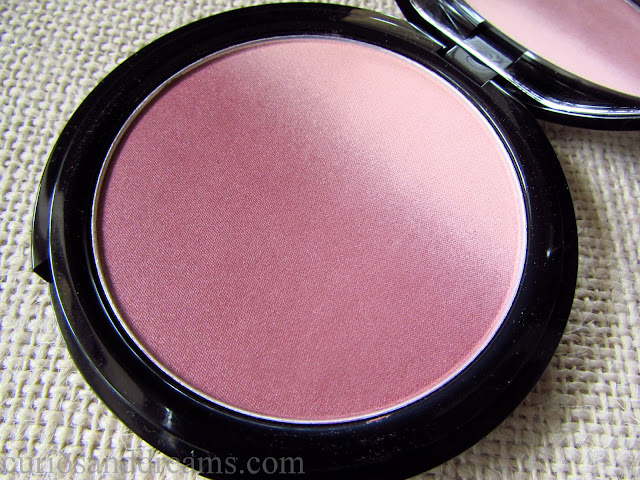 NYX Ombre Blush mauve me review, NYX Ombre Blush review