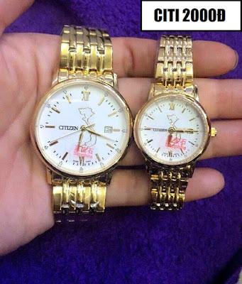 Đồng hồ cặp đôi Citizen 2000Đ