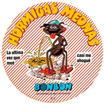 Pegatina Hormigas meonas Jolines BonBon