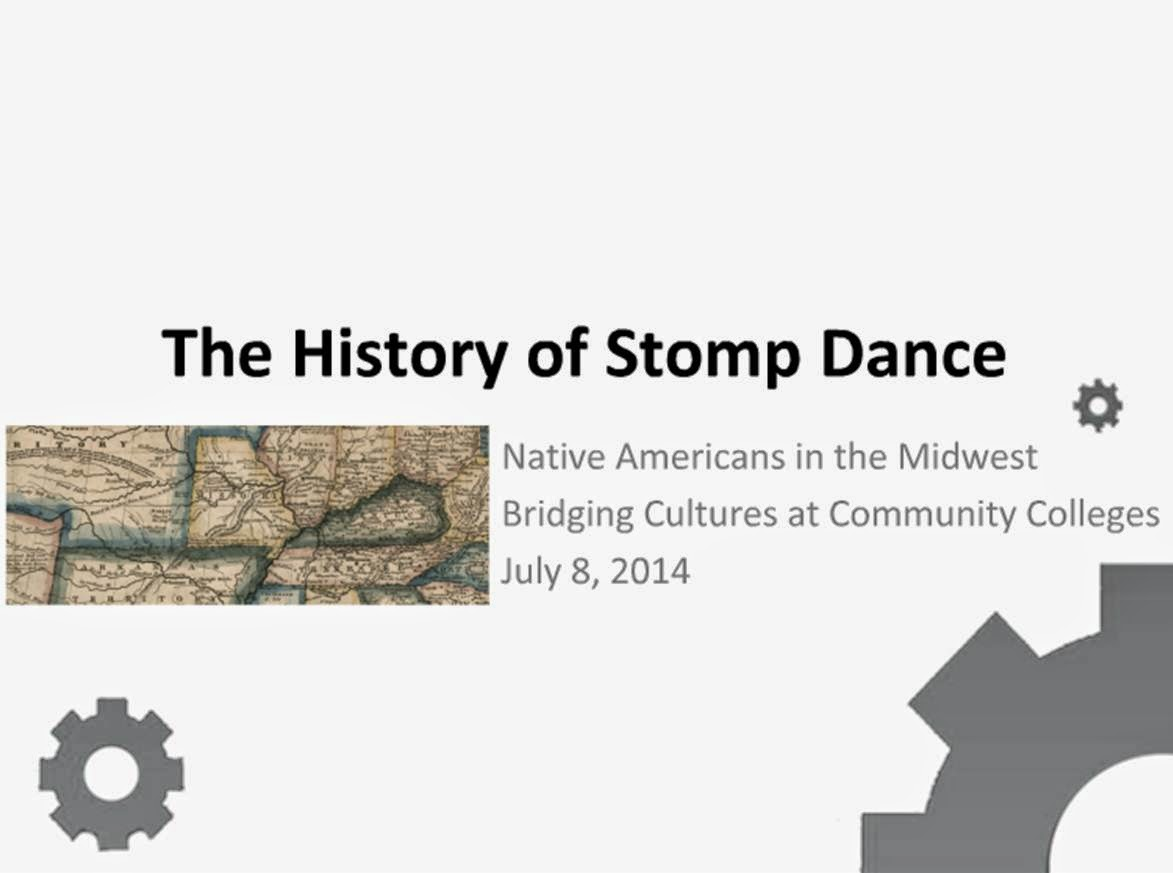 The History of Stomp Dance Webinar from Native Americans in the Midwest.