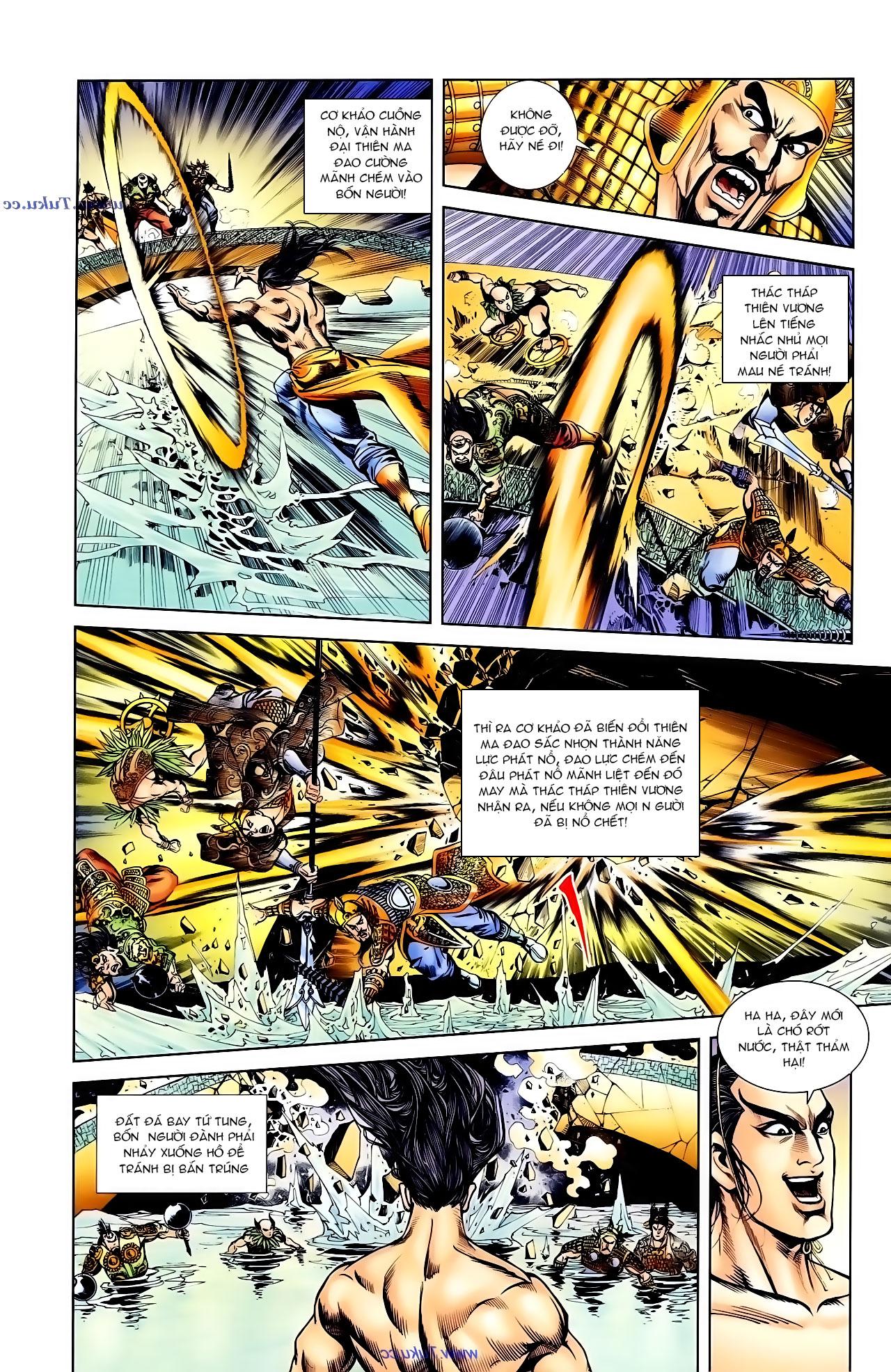 Cơ Phát Khai Chu Bản chapter 103 trang 23